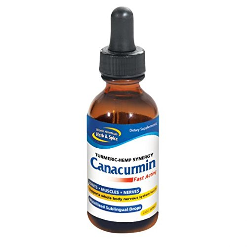 North American Herb & Spice Canacurmin, 2 Ounce (2 pack)