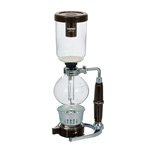 HARIO Technica Three Cup Coffee Siphon, 360ml, Not Applicable