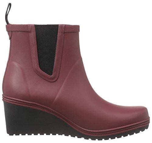 TretornEmma - botas de goma sin forro con caña corta Mujer Morado - Violett (Burgundy 090)