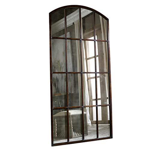 Antiqued Window Arch Wall Floor Mirror XL 82