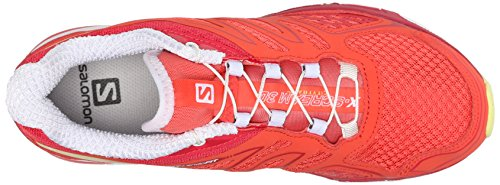 Chaussures Scream 3D Lotus de Pink Salomon b Flashy X x Papaya Compétition Running Femme ERw5ttxqT
