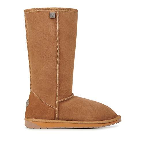 EMU Australia Platinum Stinger Hi Womens Real Sheepskin Boots Australian Made Size 6