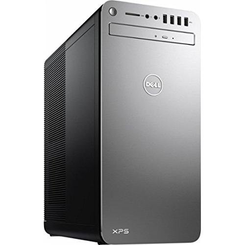 Top Performance Dell XPS 8920 Premium Desktop (Quad Core Intel i7-7700 3.60 GHz, 16GB DDR4 RAM, 1TB 7200RPM HDD, AMD Radeon RX 560 2GB Dedicated Graphics, BT, 802.11ac, DVD, HDMI, Windows10) - Silver by Dell