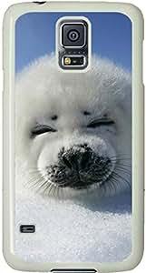 Baby Seal Galaxy S5 Case, Galaxy S5 Cases - Compatible With Samsung Galaxy S5 SV i9600 - Samsung Galaxy S5 Case Durable Protective Case