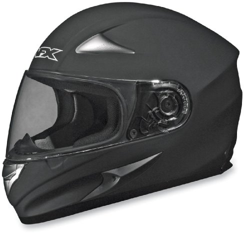 Afx Helmet (AFX FX-90 Solid Helmet , Size: XS, Primary Color: Black, Distinct Name: Flat Black, Gender: Mens/Unisex, Helmet Type: Full-face Helmets, Helmet Category: Street 0101-3343)