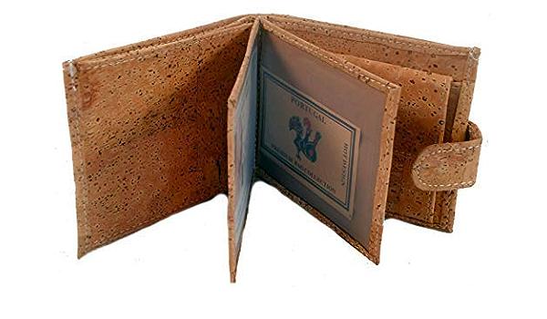 Red Metallic Trifold Cork Wallet Unisex Cork Wallet  Men/'s Wallet  Sustainable Wallet  Cork Wallet  TriFold Wallet  Vegan Wallet