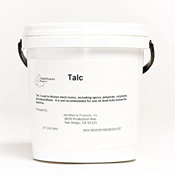 Talc filler for epoxy and polyester resins 1/2 gallon