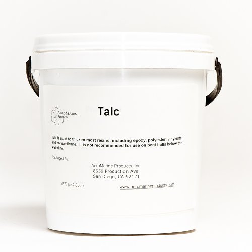 Polyester Resin Epoxy (Talc filler for epoxy and polyester resins 1/2 gallon)
