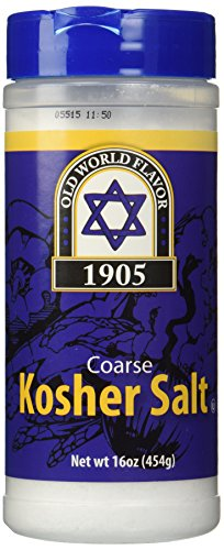 Coarse Kosher Salt - 16 oz,(Old World Flavor)