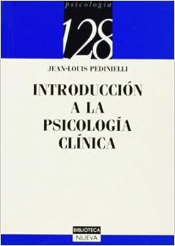 Book Introducción a la psicología clínica