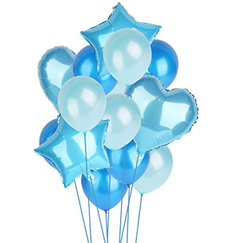 14Pcs 12Inch 18Inch Multi Air Balloons Happy Birthday Party Helium Balloon Decorations Wedding Festival Balon Party Supplies -