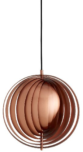 Disc Shaped Pendant Light in US - 2