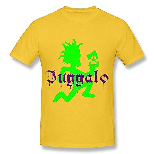 Hatchetman Icp Tshirts For Man 100% Organic Cotton L Yellow -