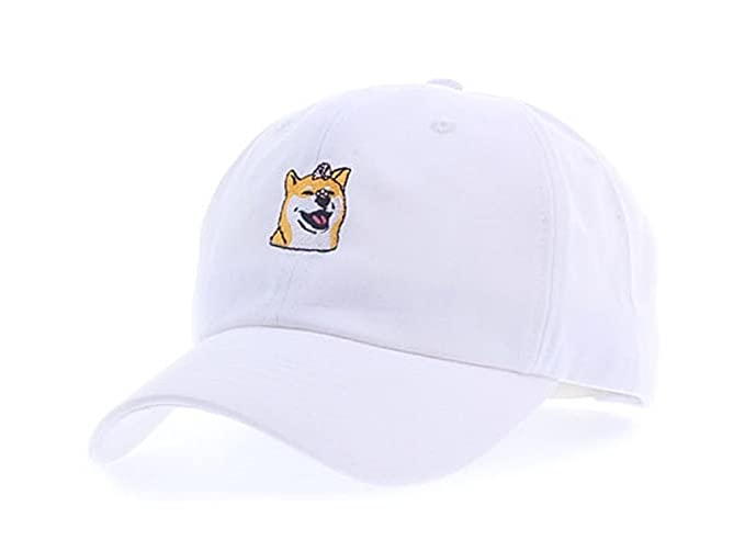 da5eef29afa Amazon.com  myglory77mall Baseball Trucker Golf Sports Adjustable Hats  Hachiko dog1 Ball Caps White  Clothing