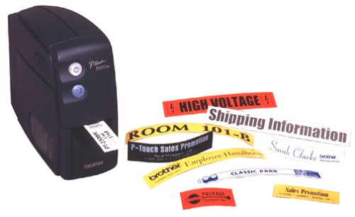 Brother Printers Pt-2500PC Serial Label System 1/4-1IN Tz Tape PC/Mac with Cable by Brother