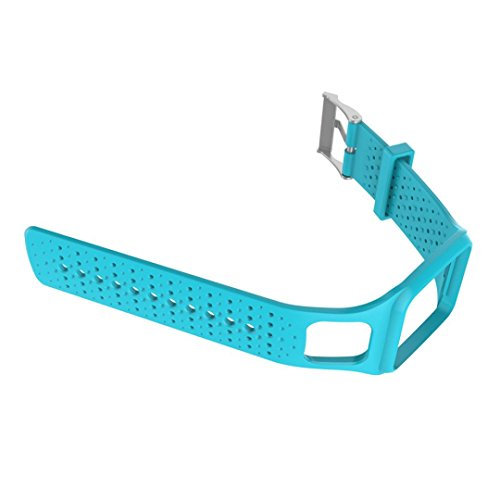New Fashion RTYou(TM) Replacement Silicone Band Strap For TomTom Multi Sport / Cardio GPS Watch (Blue) by RTYou