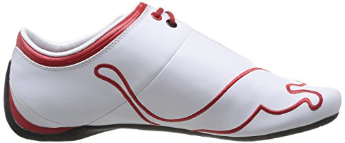 Puma Ferrari Future Cat M1 Tifo - Zapatillas de piel de cerdo hombre blanco (White)