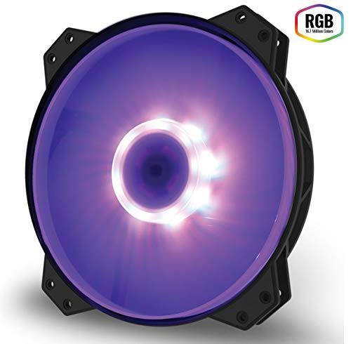 Cooler Master masterfan mf200r RGB PC Case Fan [Rgb Led With] fn1164 R4 – 200R – FC – R1