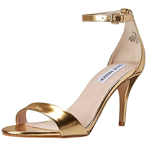 Gold Metallic Heels: Amazon.com