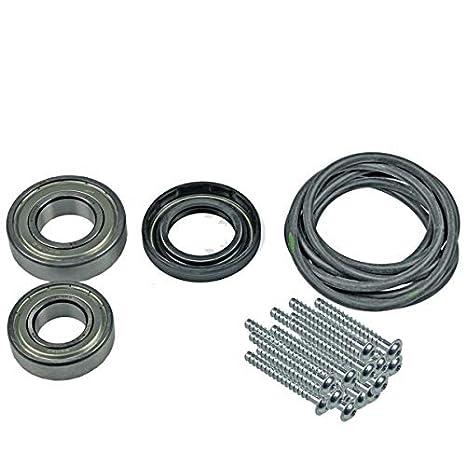 Juego de cojinetes de tambor para lavadora Siemens Bosch 000619809 ...