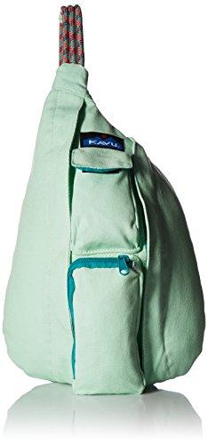 (KAVU Mini Rope Bag, Seafoam, One Size)
