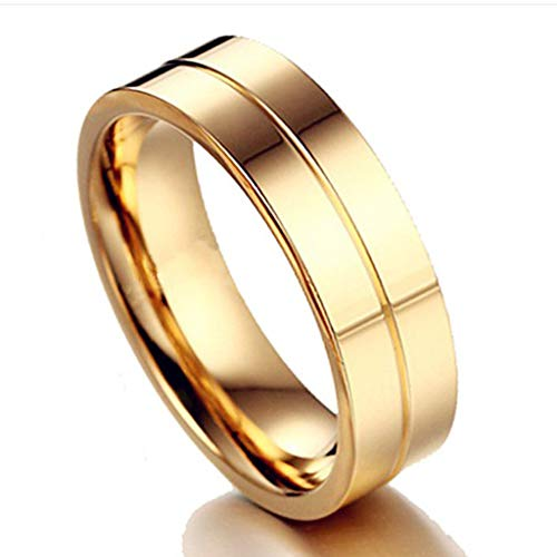 ❤❤Ratoop❤❤Stylish and Simple New Titanium Steel Couple Ring Jewelry by Ratoop-rings (Image #1)