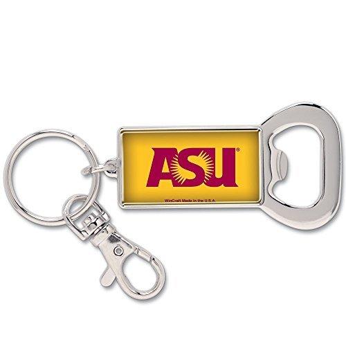 - Wincraft NCAA 64199081 Arizona State University Key Ring Bottle Opener