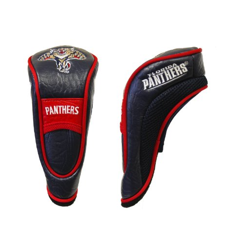 Team Golf NHL Florida Panthers Hybrid Golf Club Headcover, Velcro Closure, Velour lined for Extra Club Protection