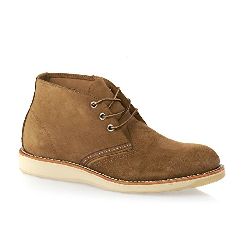 Red Wing 3144, Herren Schnürschuhe Olive Mohave