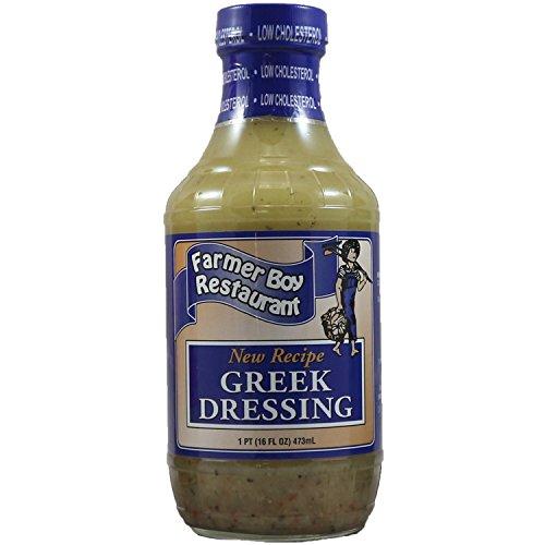 Farmer Boy Greek Salad Dressing 16 oz, With Exclusive Recipe Ebook