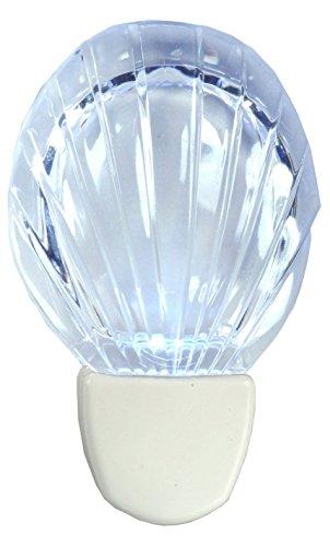 AmerTac 71076 Shell Night Light, White