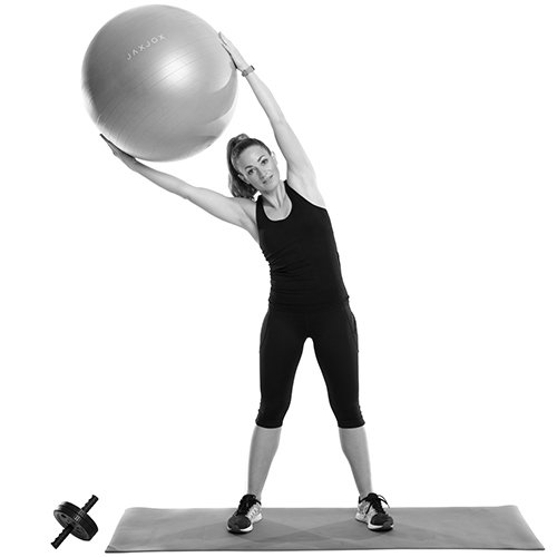 JAXJOX Balance Stability Gym Swiss Ball