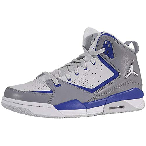 Nike Men's Jordan SC 2 454050 007 Stealth White Platinum Royal Basketball Shoe (Men's 11.5, Stealth White Platinum Royal)