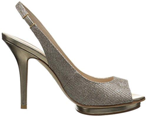 Pump MT Rivka Moda Pelle Platinum Women's Dress Gold 4STxUq