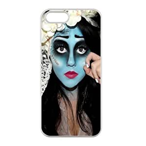 Custom Personalized Corpse Bride Back Cover Case TPU for iphone5,5S JN5S-874