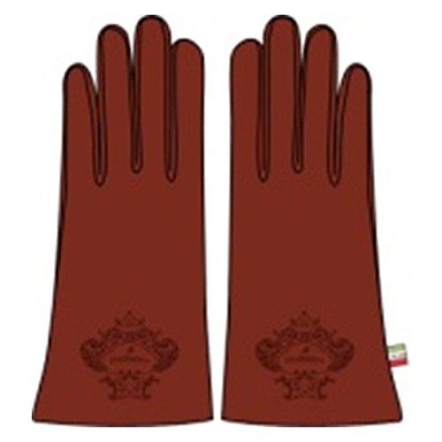 オロビアンコ レディース 手袋 7.5 ORL-1582-RED レッド [並行輸入品]