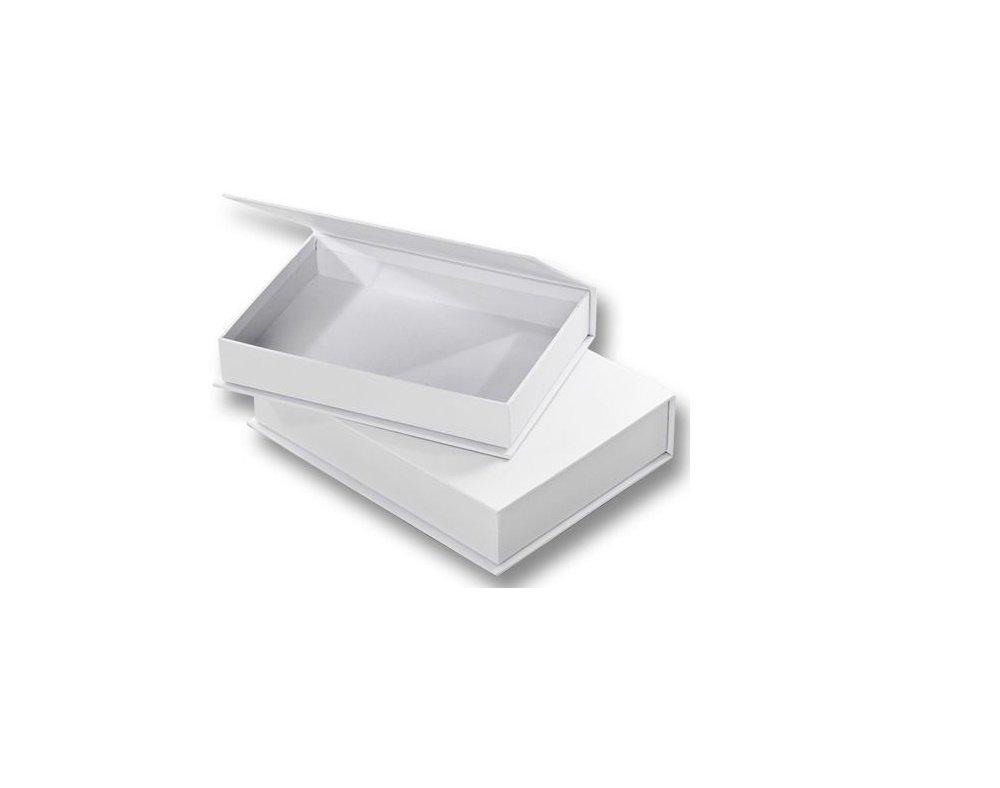 Papier Mache Boxes 2 White Board Book Style Boxes for Decoration /& Decopatch