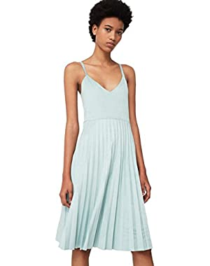 Mango Women's Pleated Dress