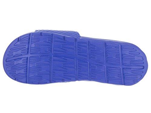 NIKE Herren Benassi Solarsoft Slide Sandale Hyper Kobalt / Omega Blau