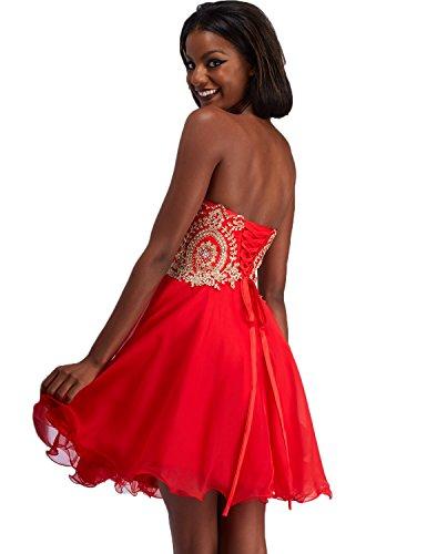 Gown Dress Short Strapless Women's House Beaded Belle Prom Homecoming Blue HWM013 gHZTn
