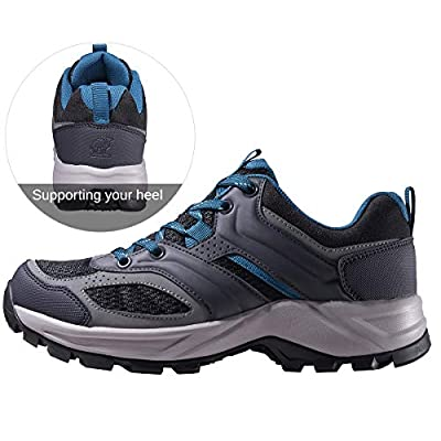 CAMEL CROWN Hiking Shoes for Men/Women Tennis Trail Running Backpacking Walking Shoes Comfortable Slip Resistant Sneakers Lightweight Athletic Trekking Low Top Boot | Trail Running