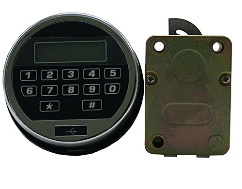 Electronic Keypad Lock For Gun Safe Vault, Build Your Own Safe or Lock Box