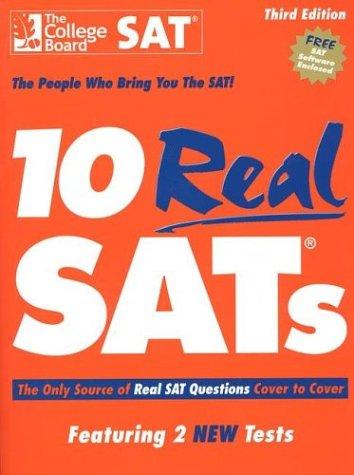 10 Real SATs, Third Edition