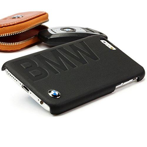 Urcover® BMW Logo Backcase | Apple iPhone 6 / 6s in Schwarz | Backcase Case | Hülle Schutz Smartphone Zubehör Schale Etui