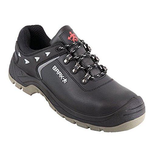 BAAK Chaussures de sécurité Bert 8334S3SRC Construction Chaussures de sécurité bgr191Noir, 37 EU, noir