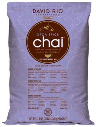 David Rio Orca Spice Sugar-free Chai, 3lb. Bag by David Rio