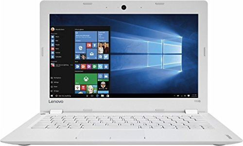 Lenovo Ideapad 110s 11.6 inch HD Flagship White Laptop PC| Intel Celeron N3060 1.60 GHz Dual-Core| 2GB RAM| 32GB eMMC | Windows 10| Office 365 Personal