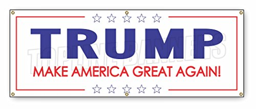 2-ft-x-6-ft-DONALD-TRUMP-BANNER-SIGN-white-stars-president-republican-politics-2016
