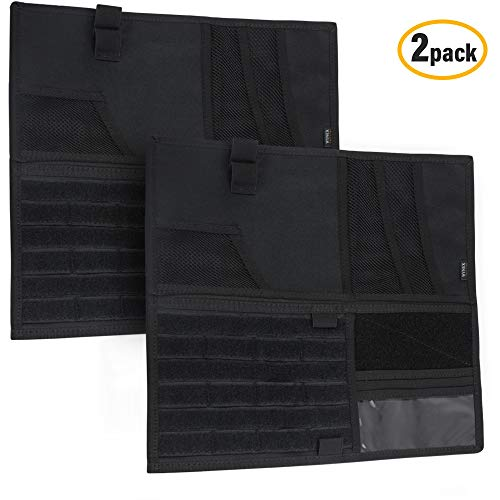 - Wynex Truck Visor Panel Organizer for Pickup F150, Large Molle Visor Panel Vehicle Tactical Sun Visor Holder Car Sunshade Storage Pouch with 3 Hoop & Loop Straps Molle Webbing for Ram Tundra (13.87