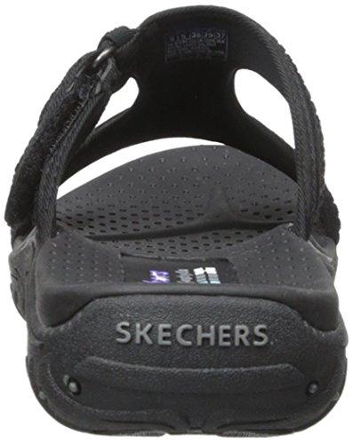 femme Skechers Reggae Noir 47786 Chaussures nbsp;Rockfest Noir w7US0ZqUIx